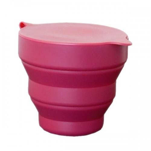 Sterilizační kelímek, skládací pohár pro sterilizaci menstruačních kalíšků