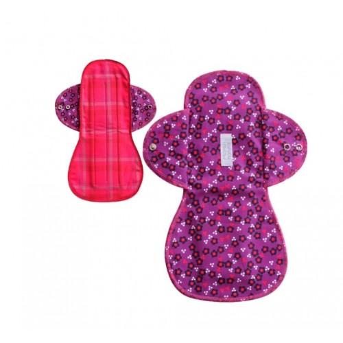 Přírodní vložka na noc Momiji XL fialová , omyvatelná, Top kvalita