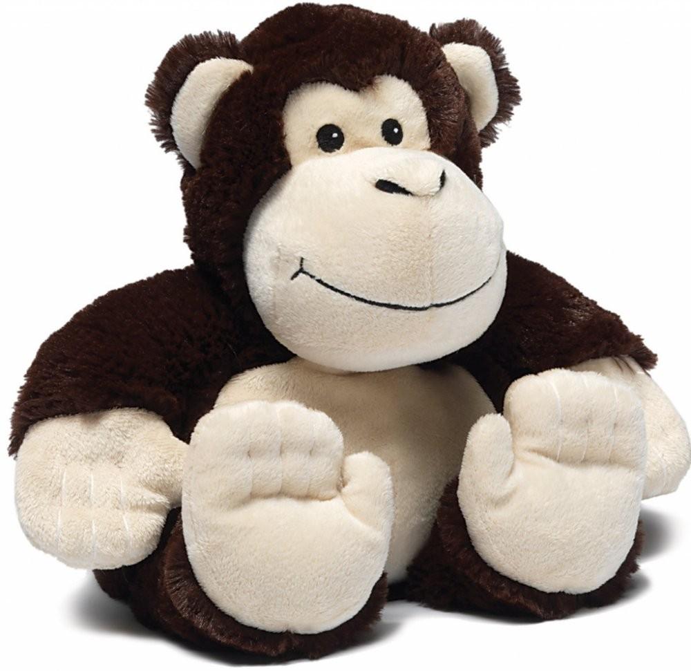 Nahřívací / chladící opička Warmies do mikrovlnné trouby