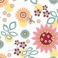 Theraline nahřívací/chladící polštářek z třešňových pecek květy